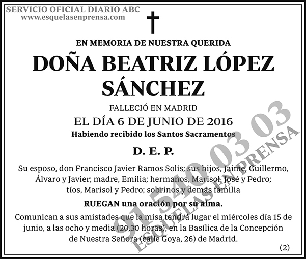 Beatriz López Sánchez
